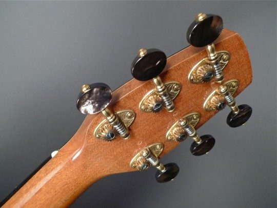 Alessi Gold Etched With Pearl Buttons Tuners