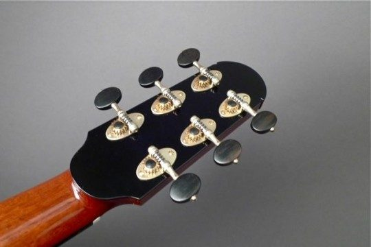 Alessi Nickel With Ebony Buttons Tuners