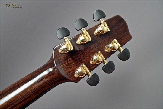 Grover Gold With Ebony Buttons Tuners
