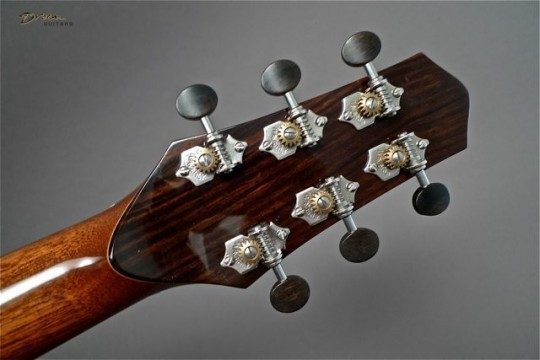 Waverly Nickel With Ebony Buttons Tuners