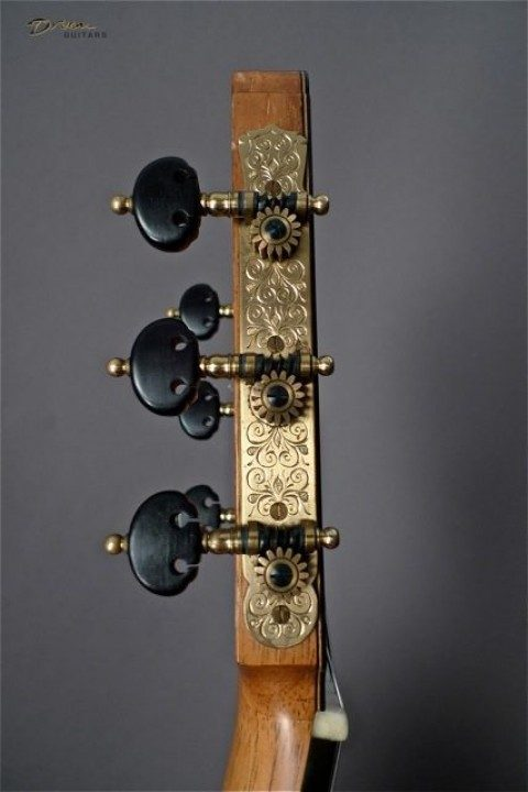 Rodger Gold With Ebony Buttons Tuners