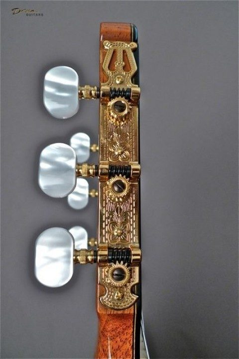 Schaller Gold Etched With Pearl Buttons Tuners