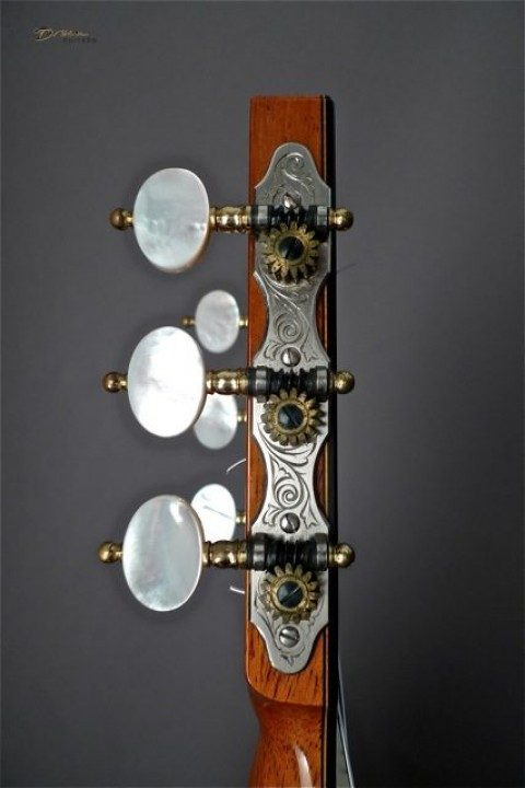 Rodger Silver with Pearl Buttons Tuners