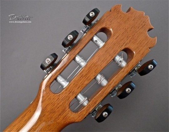Contreras Pewter with Ebony Buttons Tuners