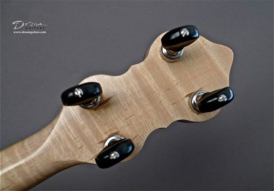 Five Star Chrome With Black Buttons Tuners