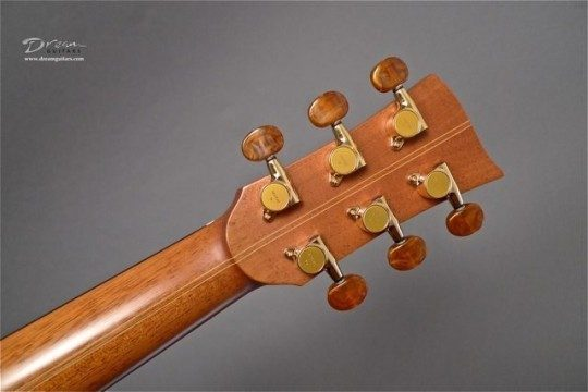 Gotoh Gold With Amber Buttons Tuners