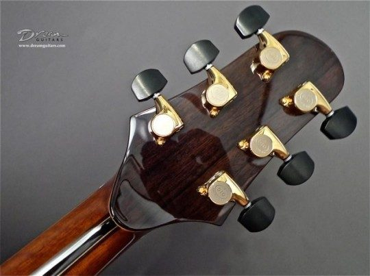 Gotoh 510s Gold With Ebony Buttons Tuners