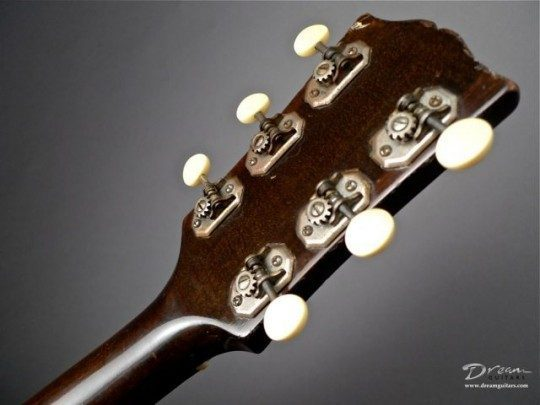 Original Nickel With Ivorid Buttons Tuners