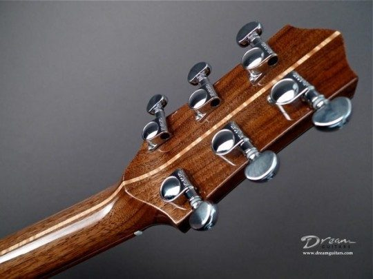 Grover Chrome Tuners