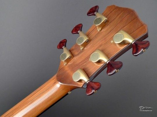 Gotoh 510s Gold With Cocobolo Buttons Tuners