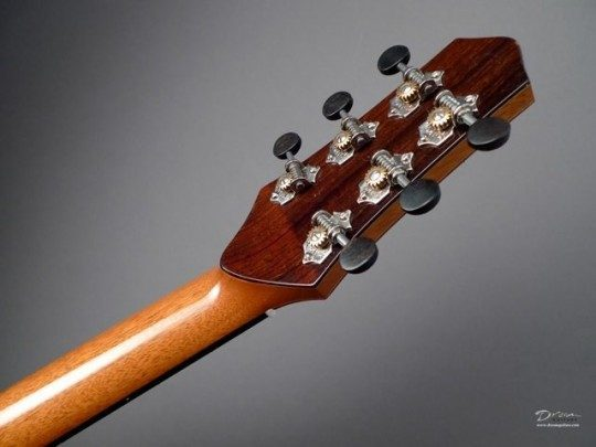 Waverly Chrome With Ebony Buttons Tuners