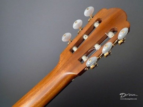 Grover Nickel With Pearl Buttons Tuners