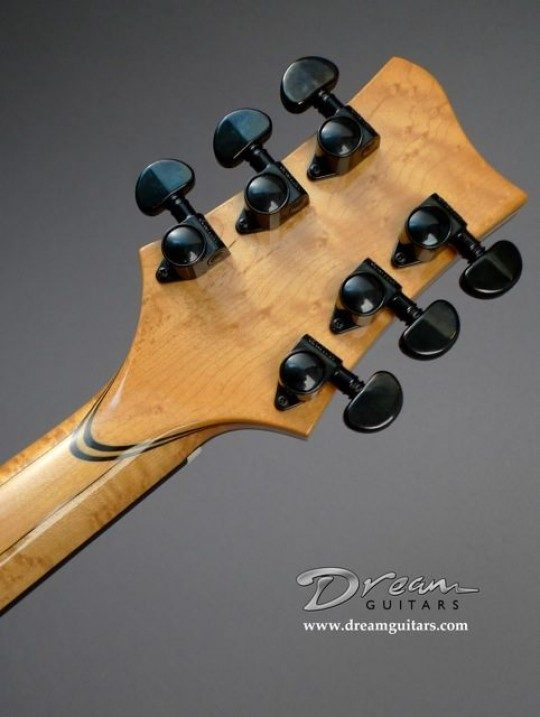 Grover Black Tuners