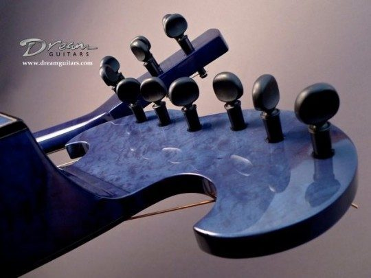Peghed Planetary Pegs Black Tuners