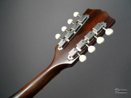 Kluson Deluxe Nickel with Ivoroid Buttons Tuners