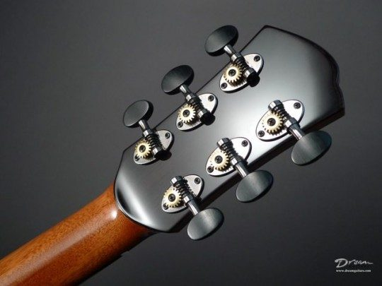 Schertlers Chrome With Ebony Buttons Tuners