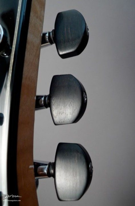 Gotoh Chrome With Ebony Buttons Tuners