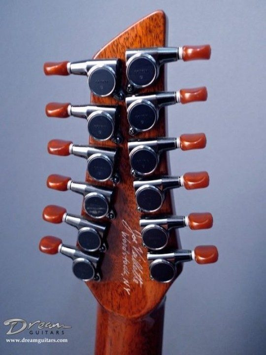 Gotoh Black with Amber Buttons Tuners