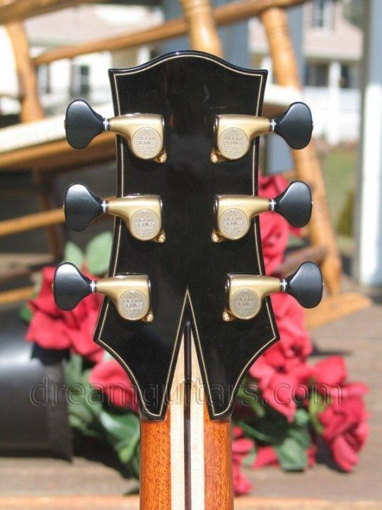 Bronze Gotoh Delta Series with Ebony buttons