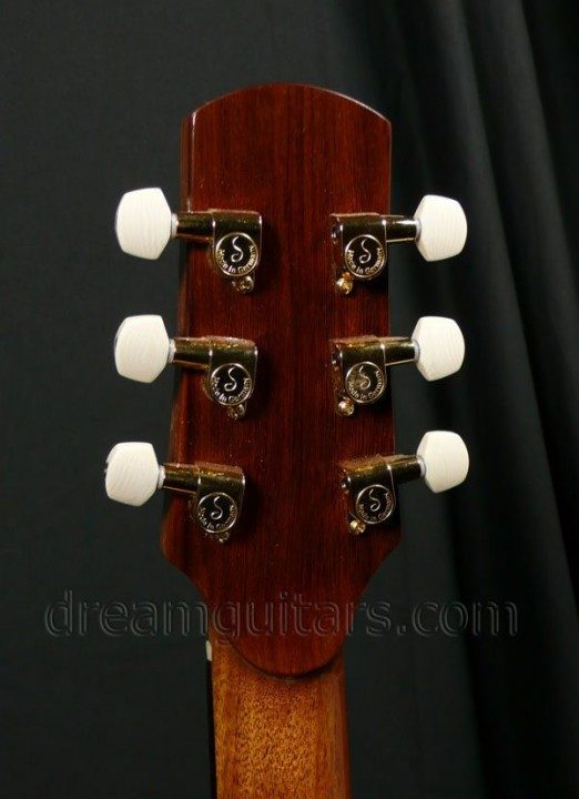 Gold Mini-Schallers with Ivoroid Buttons