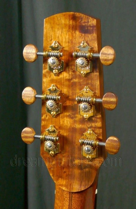 Gold Waverly with Gold Koa Buttons