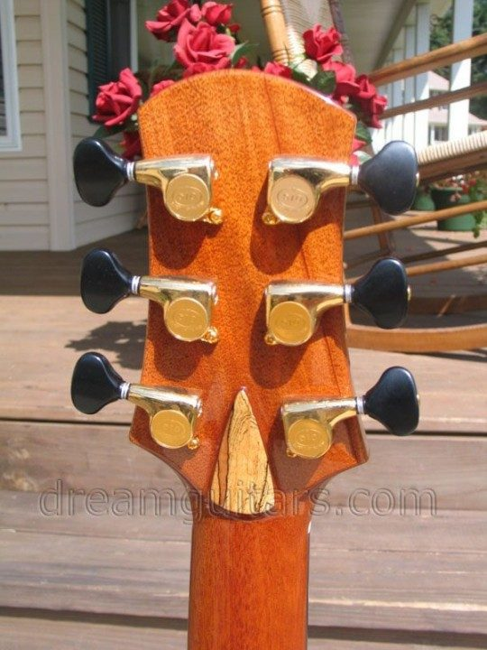 Gold Gotoh 510s With Ebony Buttons