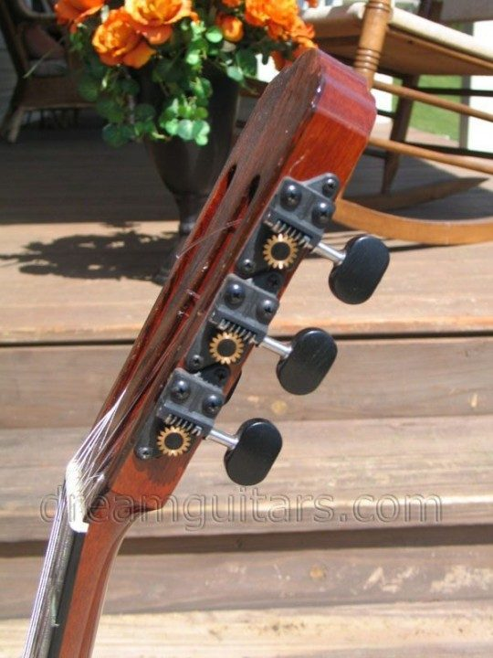 Black Gilbert Tuners with Ebony Buttons