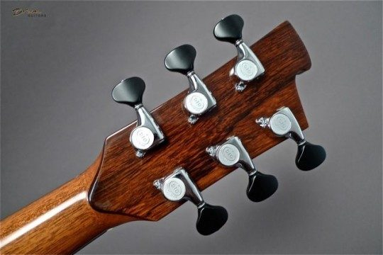 Gotoh 510s Chrome With Ebony Buttons Tuners