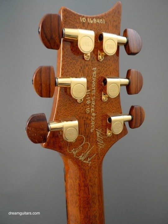PRS Locking Tuners Gold With Cocobolo Buttons