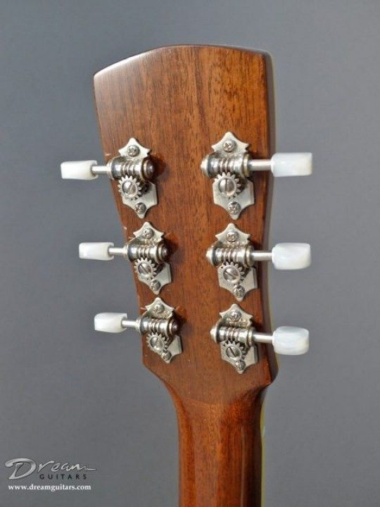 Gotoh 510 open back Nickel With Pearl Buttons Tuners