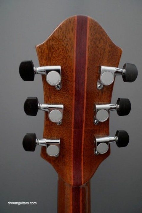 Gotoh Chrome With Ebony Buttons