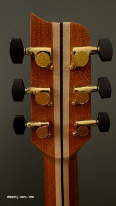 Gotoh 510s Gold With Custom Ebony Buttons