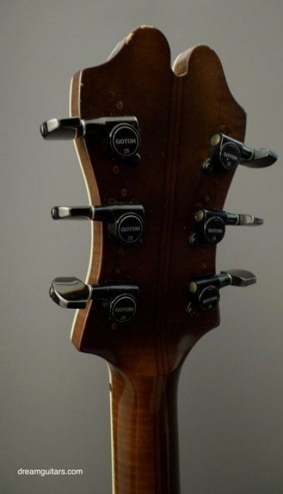 Gotoh Black Replacement Tuners