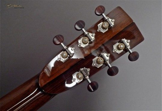 Waverly Nickel With Rosewood Buttons