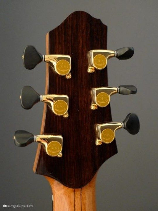 Gotoh 510s Gold With Faux Ebony Buttons
