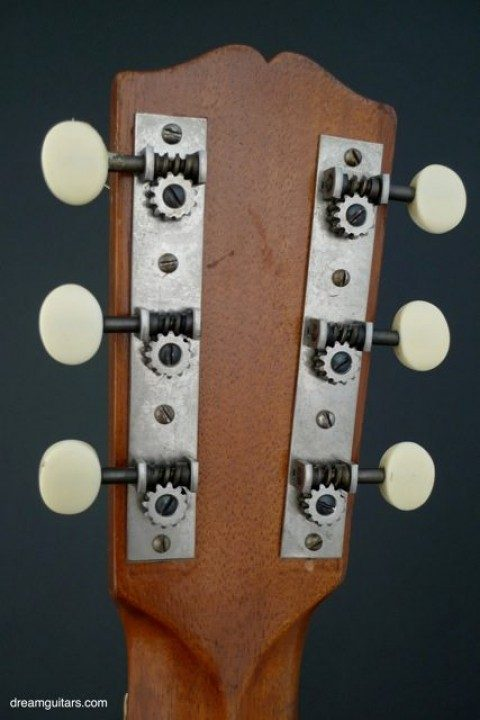 Gibson Open Back Nickel With White Buttons