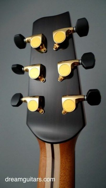 Gotoh 510 Mini Gold With Ebony Buttons