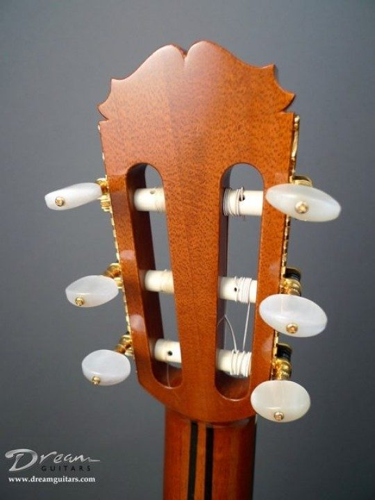 Gotoh Gold Etched With Pearl Buttons Tuners