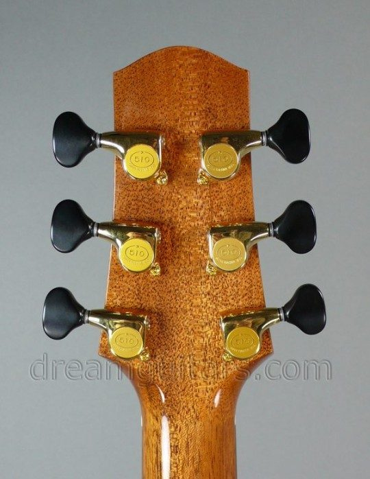 Gotoh 510s Gold with Black Buttons