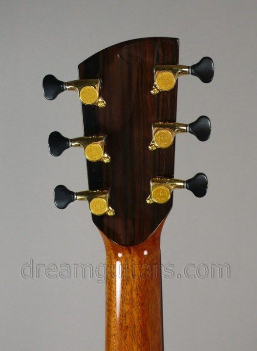 Gotoh 510 Mini Gold with Black Buttons
