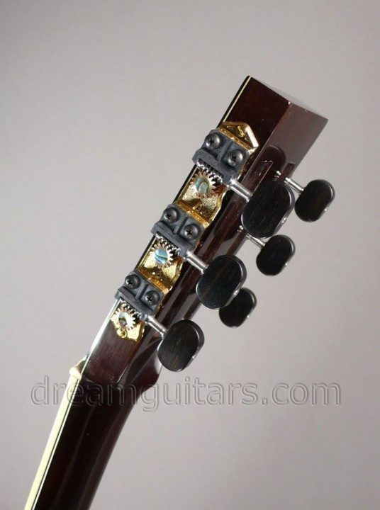 Gilbert Black,Silver and Gold with Ebony Buttons and Abalone Inlays