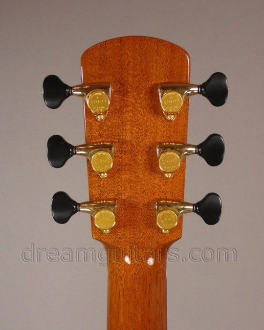 Gotoh 510s Delta Gold with Black Buttons