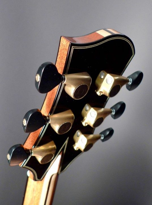 Antique Gold Gotoh 510s with Faux-Ebony Buttons