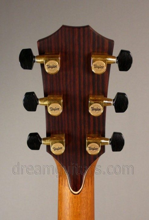 Schaller Gold with Ebony Buttons