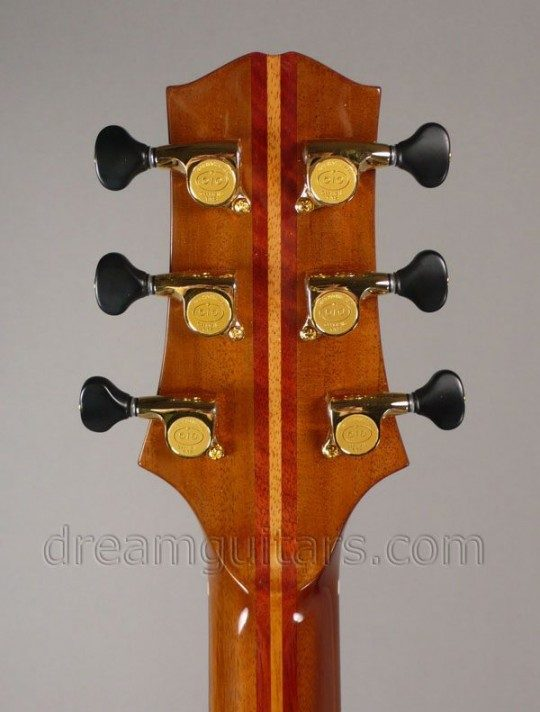 Gold with Black Buttons Gotoh 510 Mini