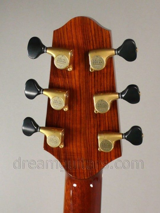 Gold with Black Buttons Gotoh 510 Delta Series