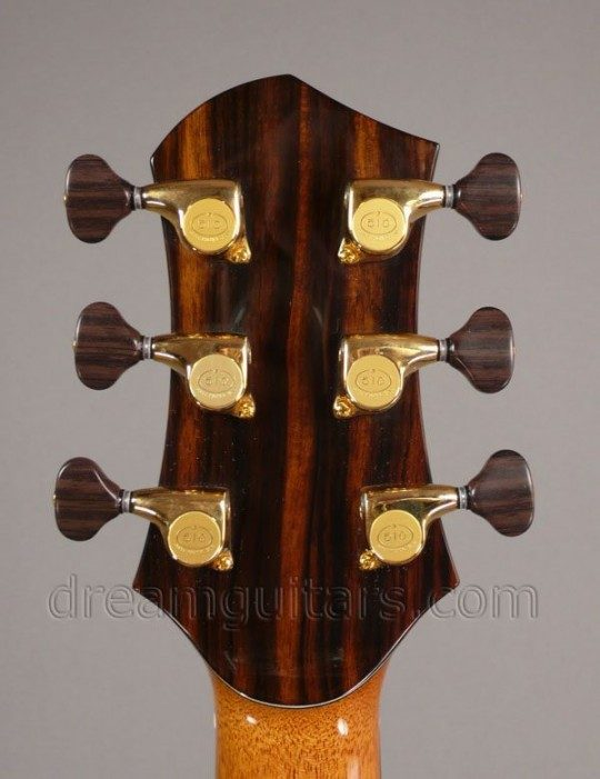 Gold Gotoh 510s with Wood Style Buttons