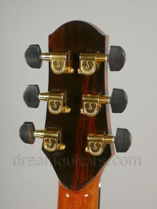 Schallers with Ebony Buttons Gold