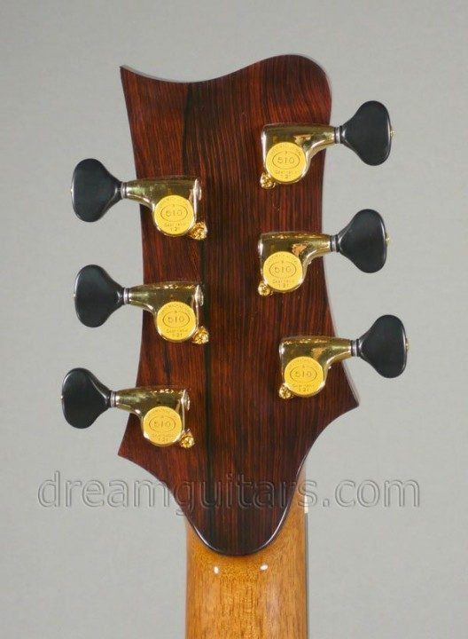 Gold Gotoh 510s with Black Buttons