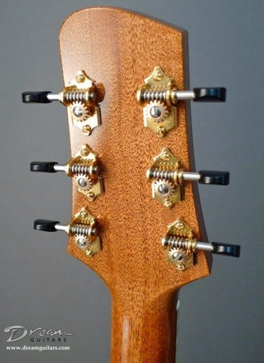 Waverly Gold With Ebony Buttons Tuners